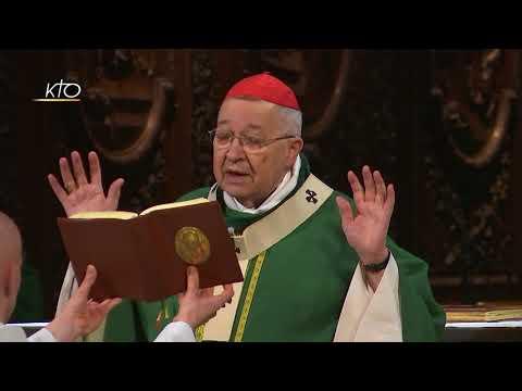 Messe du 22 octobre 2017