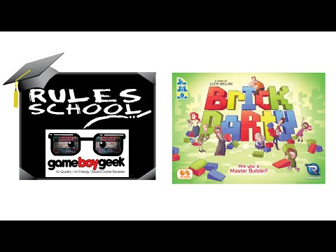 Learn How To Play (Rules School) Brick Party with the Game Boy Geek