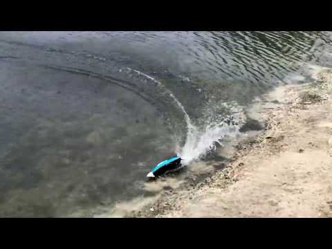 H108 Radio Controlled High Speed Racing Boat on Banggood