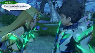 Xenoblade Chronicles 2 - Choosing Mythra For Beneath The Aurora DLC Quest!