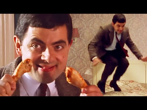 Mr Bean at the hotel Part 2