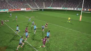 Rugby League Live 4   Dylan Napa Try