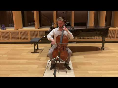 Prelude from Bach Suite No. 5 in C Minor. BWV 1011
