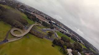 Iflight DC5 Titian DJI 6S Wet Weather fly Sydney. This thing is insane.