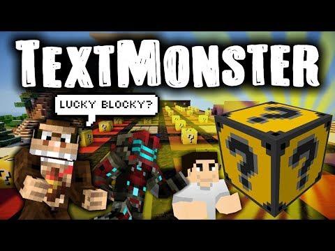 TextMonster LUCKY BLOCKY