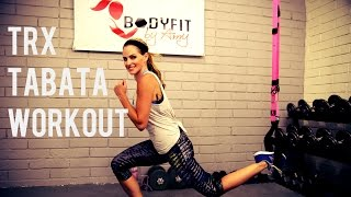30 Minute TRX Tabata Workout by BodyFit By Amy