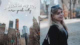 A WEEK IN MY LIFE AS AN EXCHANGE STUDENT: new york city !!