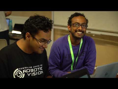 Behind the scenes: Robotic Vision Summer School