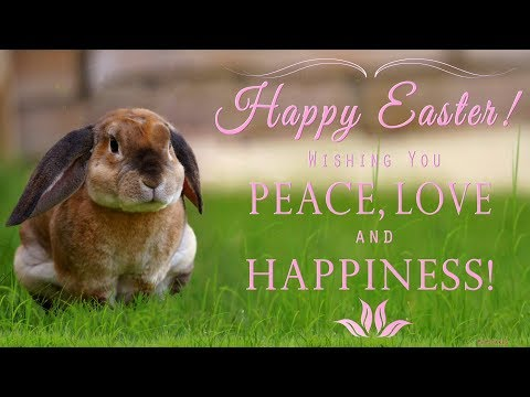 🐣🐰🌷HAPPY EASTER! Wishing You peace, love and happiness!🐣🐰🌷
