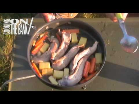 Cooking on the bank, Oct 2011