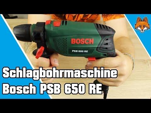 Schlagbohrmaschine Bosch PSB 650 RE im Test 🛠