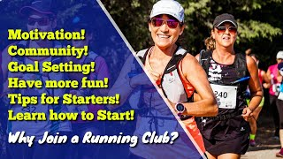 Why join a running club?
