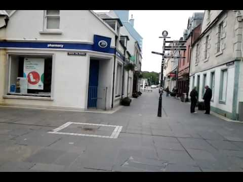 Stornoway (Steornabhagh) town centre  Isle of Lewis, in the Outer Hebrides of Scotland