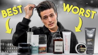 Mens Hairstyling Into 2020   BEST & WORST Hair Products