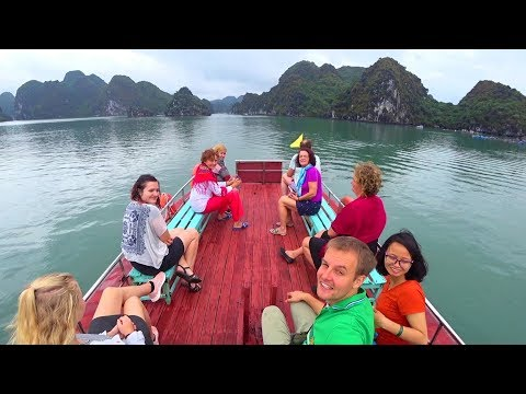 family-boat-tour--cát-bà-island-in-halong-bay-vietnam--the-walk-around-the-world-travel-vlog
