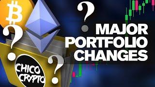 What Coins Do I HODL?? Major Portfolio Changes!!!