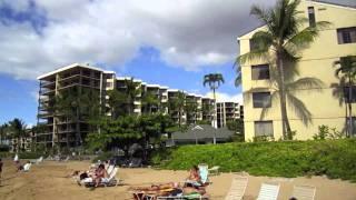 preview picture of video 'KS 360 Maui Beachfront Luxury Vacation Rental Corner Suite at the Ka'anapali Shores Resort'