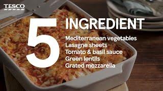 Ratatouille lasagne