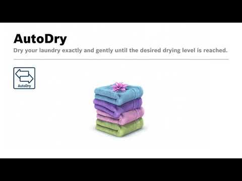Bosch Freestanding Washer Dryer WNA14490GB - White Video 3