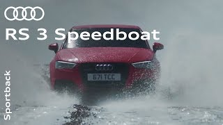 "Audi RS 3 ""Speedboat"""