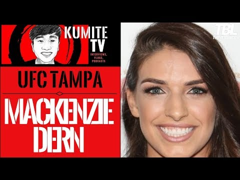 Mackenzie Dern says becoming two division UFC champion is the ultimate goal
