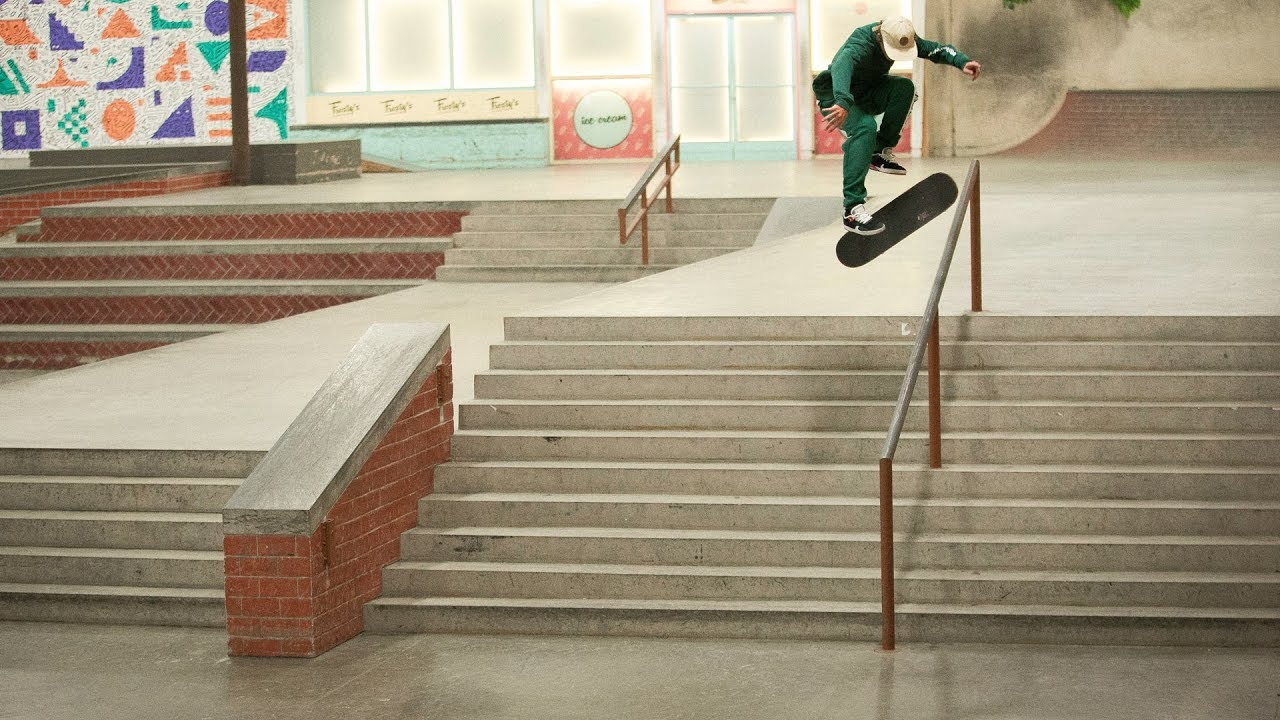 House Of Sprain: Jump Up And Get Down With Gustavo Ribeiro - The Berrics