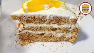 Морковный торт. Простой рецепт вкусного очень ароматного морковного торта.