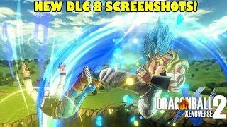 Xenoverse 2 NEW DLC 8 Screenshots! Gogeta Blue Skills, CAC Clothes & New Photo Mode!