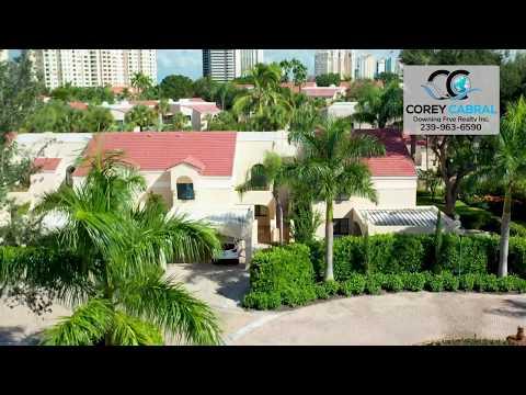 Pelican Bay Valencia Naples Florida 360 degree video fly over