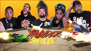 Explosions, Robots & Fast Cars! The CRAZIEST Demolition Derby Ever! (Thunder Rally)