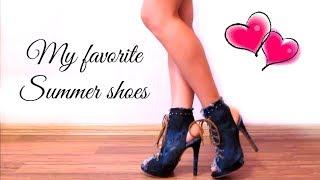 Летняя обувь на все случаи жизни ♥♥♥ Summer Shoes Haul