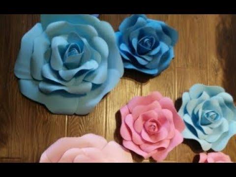 DIY membuat beberapa jenis bunga mawar dari kertas > Do it ... | 360x480