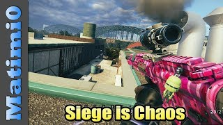 Siege is Chaos - Rainbow Six Siege
