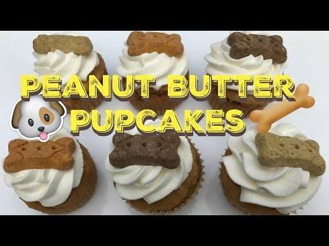 PUPCAKES | Peanut Butter Cupcakes For Your Dog!!