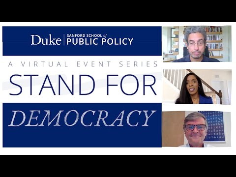 Stand for Democracy: Fireside Chat with Panel on Elections, Voting and Politics