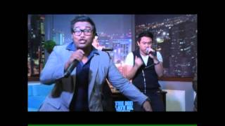 Buru-10 LIVE @ The Medyo Late Night Show with Jojo A. All the way - JuanRhyme Brothers