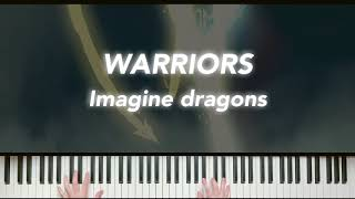 "Imagine Dragons, ""Warriors"" (리그오브레전드) - Piano Cover"
