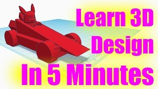 Learn to Design 3D Printed Object in 5 Minutes 2018 UPDATED TinkerCAD