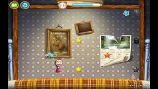 Маша и Медведь - Прыжки на кровати