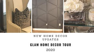 New! Glam Home Decor Tour 2020| New Updates|Decorating Ideas
