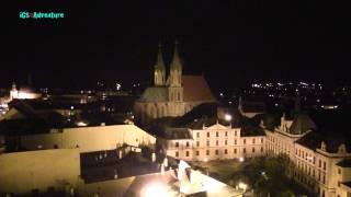 preview picture of video 'iGS4Adventure - Noční prohlídka Arcibiskupský zámek Kroměříž'