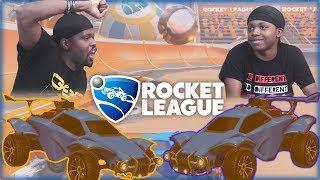 Crap Talk Filled Rematch! Who Will Fold Under Pressure?! (Rocket League 1v1)