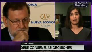 Rajoy necesita aliados para mantener gobierno, sin embargo tiene armas a su favor