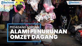 Libur Lebaran, Pedagang Mainan di Pasar Gembrong Keluhkan Penurunan Omzet