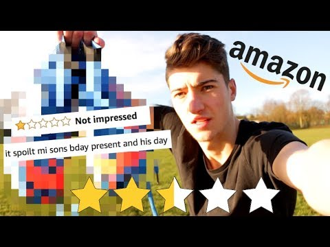 THE WORST REVIEWED FOOTBALL BOOTS ON AMAZON!!