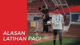 Alasan Garuda Muda Latihan Pagi Hari Jelang Tanding Lawan Vietnam