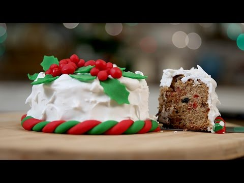 Video How To Make PLUM CAKE | Traditional CHRISTMAS CAKE Recipe | The Bombay Chef - Varun Inamdar