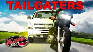 How to deal with tailgaters on a motorcycle