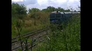preview picture of video 'GM J26CW/AC serie 319-239 por Pte  Derqui (24-11-13)'