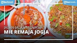 Warung Mie Remaja Jogja yang Viral, Sajikan Aneka Nasi Goreng Porsi Jumbo dengan Harga Terjangkau